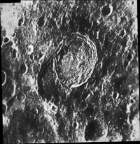 Zond-6 Photo of the Moon (another print of previous photo)