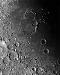 Zond-7 or Zond-8 Photo of the Moon