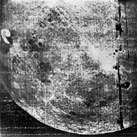 Luna-3 Image of Far Side of the Moon