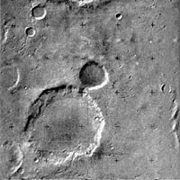 Image from Mars-5 Orbiter