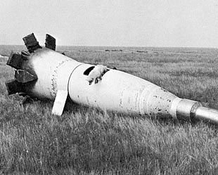 R-5 Sounding Rocket Capsule with Dog