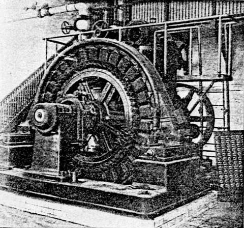 Westinghouse Alternator at Shoreham