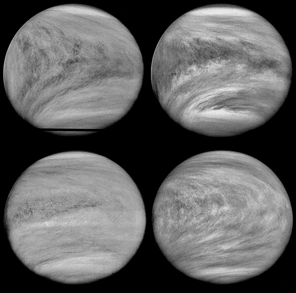 4 Day Superrotation of Venus