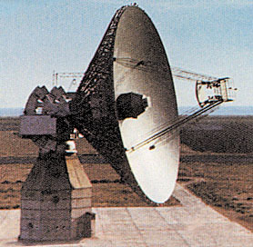 Saturn Antenna at Evpatoriia