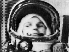 Tereshkova on Vostok-6