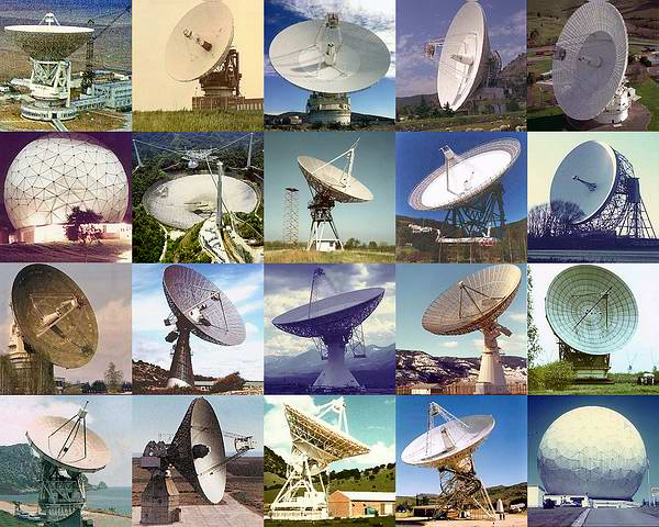 20 Antennas Used for Vega Aerostat