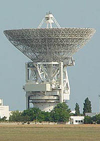 70-meter dish in Evpatoriia