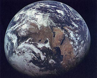 The Earth from Zond-7