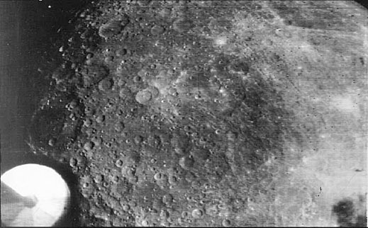 Zond-3 Photo of Moon